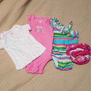 0-3m bathing suit and more